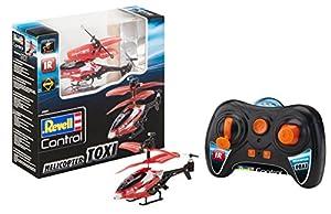 Revell Control- Toxi Helicóptero a Control Remoto, Color Rojo (23841)