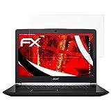 atFoliX Acer Aspire V Nitro 7-793G 17,3 inch Anti-Shock Pellicola protettiva - 2 x FX-Shock-Antireflex antiabbagliamento ammortizzante Protettiva di Schermo alta Protezione