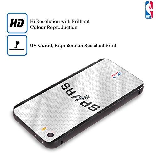 Ufficiale NBA Maglia San Antonio Spurs Nero Cover Contorno con Bumper in Alluminio per Apple iPhone 6 Plus / 6s Plus Maglia