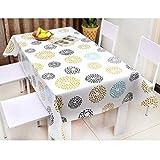 PQPQPQ Tischdecken Tischdecken in PVC-Einweg wasserdicht, Tischdecken, Tischdecken, Anti-Öl, Couchtisch, Gewebe Tischdecken Seelsorge, 1 137 * 152 cm