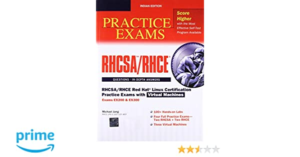 Buy RHCSA/RHCE Red Hat Linux Certification Practice Exams with
