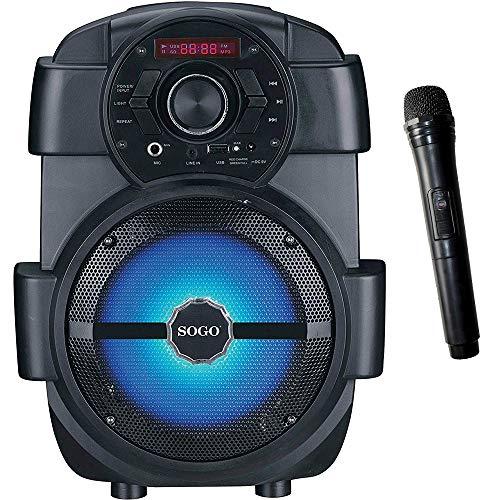 SOGO SS-8760 Altavoz portátil Bluetooth 6.5