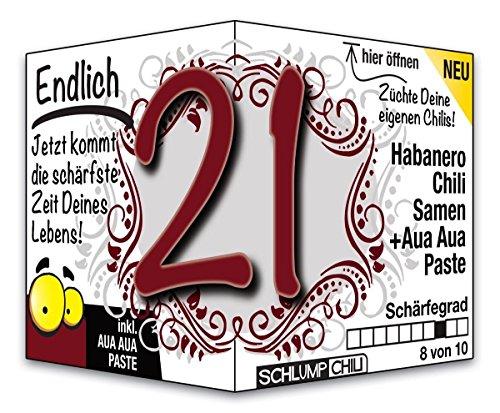 Endlich 21 – das witzige Geburtstagsgeschenk für junge Männer und Frauen :)