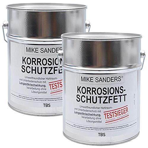 Preisvergleich Produktbild Mike Sanders 8kg (2x 4 kg) Korrosionsschutzfett