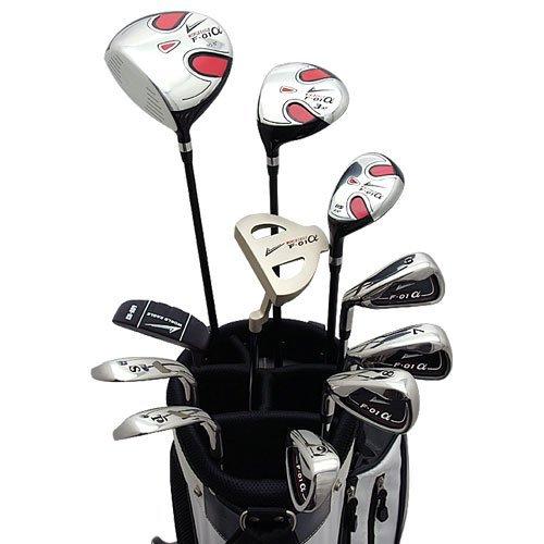 World Eagle f-01Alfa Herren Golf Komplett Set mit Weiß Tasche links flex-s 14teilig