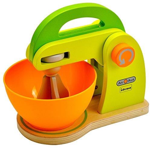 Idena 4100072 - Little robot da cucina cuoco di legno, insieme delle 2 parti, circa 21 x 12 x 19.5 cm