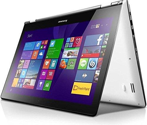 Preisvergleich Produktbild 'Lenovo Yoga 500 – 15ISK 80R6 – Design des Aufgerissen – Core i5 6200U 2.3 GHz – 10 Start 64-Bit – 8 GB RAM – 256 GB SSD – ohne ODD – 39, 6 cm (15, 6) Touchscreen mit IPS 1920 X 1080 (Full HD) – Grafik HD 520 – 802.11 ac – Schwarz – KBD: Deutsch (80r60089ge)