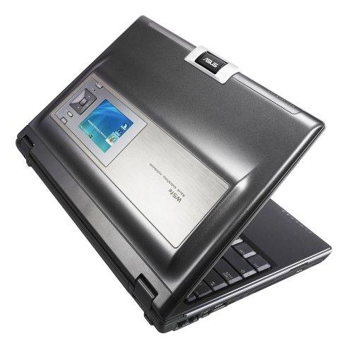 Asus W5FE-2P023E 30,7 cm (12,1 Zoll) WXGA Laptop (Intel Core 2 Duo T5600 1,83 GHz, 1GB RAM, 120GB HDD, DVD+- DL RW, Vista Business) anthrazit 2 Duo-dvd