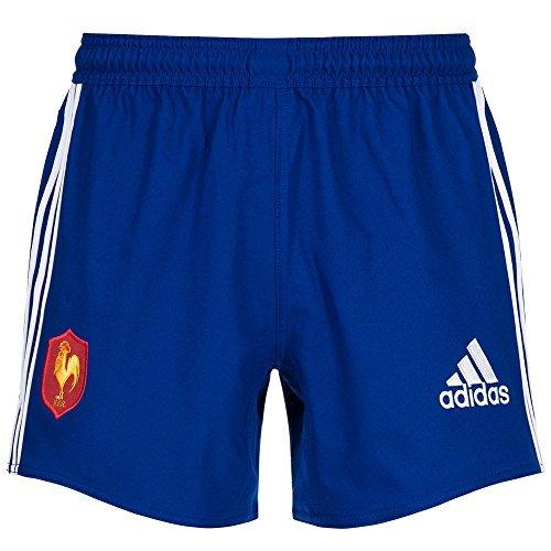 Frankreich adidas Herren Ruby Short F39866 (3-streifen-rugby-shorts)