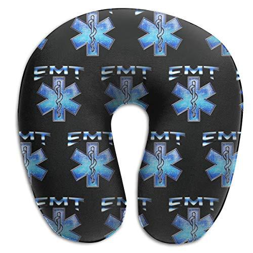 Nifdhkw Vintage EMT Paramedic Star of Life Memory Foam Neck Pillow -