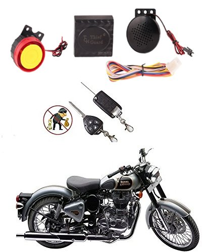 3A Featuretail Bike Security Button Remote Key Thief Guard Motorcycle Alarm System