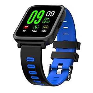 51BXxNo00sL. SS300  - OOLIFENG Smart Watch Activity Tracker Sport Fitness Wristband And Heart Rate Monitor Bluetooth Pedometer For Android Ios Phones