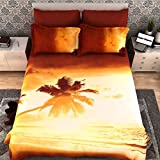 Dream Weaverz Classy & Attractive King Size Bedsheet For Double Bed - Bedsheet With Pillow Covers (Size 100 X 100 Inches)