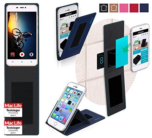 reboon Hülle für Gionee S5.1 Pro Tasche Cover Case Bumper | Blau | Testsieger