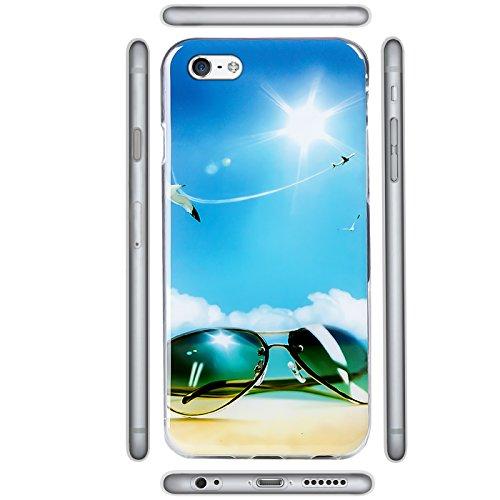 iPhone SE, 5S, 5 Bilder Case, Conie Mobile Motiv Hülle Backcover Rückschale, Silikon TPU Schutzhülle Motiv 7