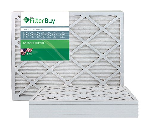 Ofen Filter/Air Filter - AFB Platinum Merv 13 (6 Pack), AFB16x30x1M13pk6 (Ofen-filter 16 X 30)