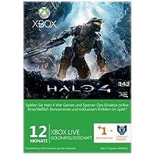 Xbox Live - Gold-Mitgliedschaft 12 + 1 Monate - im Design von Halo 4