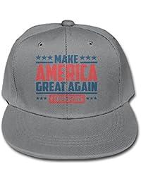 Donald Trump hacer América gran nuevo juventud Unisex ajustable soporte de  sombrero Bill gorras de béisbol 30a00787463