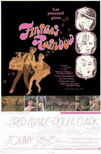 Finian dell' arcobaleno poster Movie C 11x 17pollici-28cm x 44cm Fred Astaire Petula Clark Tommy Steele Keenan Wynn al Freeman Jr. Don Francks