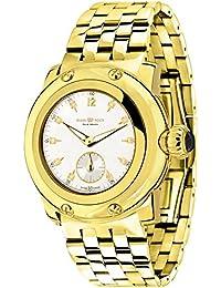 Glam Rock Damen Palm Beach 40mm Goldton Stahl Armband vergoldet Quarz Fall Swiss Armbanduhr gr40038