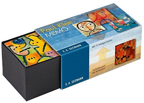 Paul Klee. Memo: Gedächtnisspiel mit 36 Motiven par N.n.
