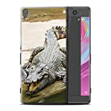 Stuff4 Coque de Coque pour Sony Xperia XA Ultra/F3212/F3216 / Crocodile/Alligator Design/Animaux Sauvages Collection