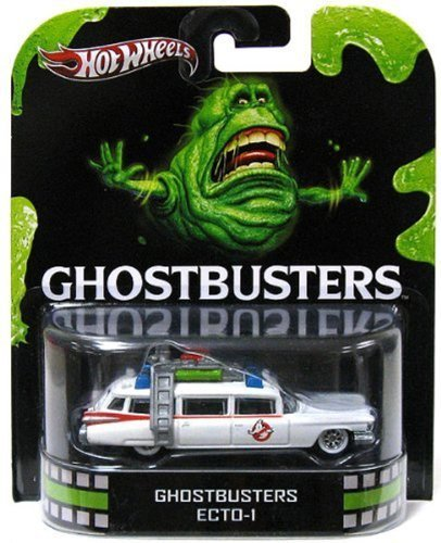Hot Wheels Retro Entertainment Ghostbusters Ecto-1 by Hot Wheels - Wheels-ecto 1 Hot