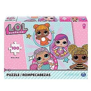 Spin Master L.O.L. Puzzle - Rompecabezas (Rompecabezas de Figuras, Dibujos, Niños, Chica, 6 año(s)