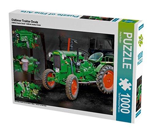 """Preisvergleich Produktbild CALVENDO Puzzle Oldtimer Traktor Deutz 1000 Teile Lege-Größe 64 x 48 cm Foto-Puzzle Bild von Peter Roder: Ein Motiv aus dem Kalender """"Oldtimer - Traktoren"""" von Peter Roder (CALVENDO Technologie)"""