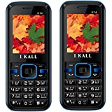 I KALL K14(Blue) And K14(Blue) Combo Of Dual Sim Mobile, 1000 MAh Battery Capacity With 101 Days Replacement Warranty With 1 Year Manufacturer Warranty