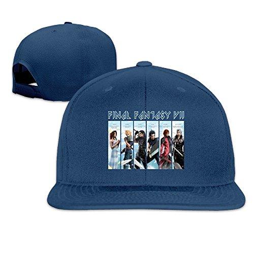 thna Final Fantasy Vii Game Logo regolabile moda cappello da baseball Navy Taglia unica