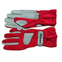 New Kart Racing Gloves Made of OMARA AND POLYESTER for Better Grip All Sizes - RED (10 / L)