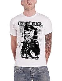 The Libertines Albion To Utopia officiel Homme nouveau Blanc T Shirt
