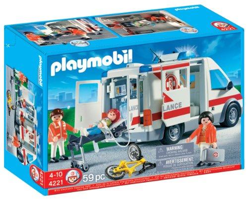 Playmobil - Coche de urgencias (4221)