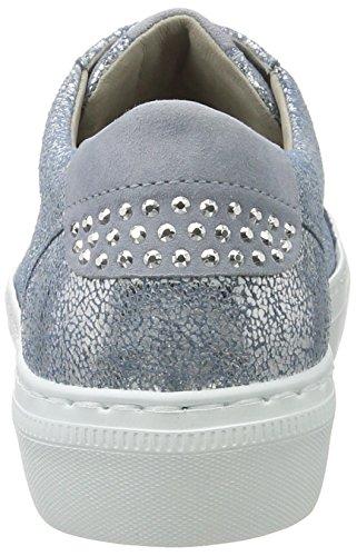 Gabor Shoes Damen Low-Top Sneaker Sneakers Fashion Blau (cielo/aquamarin 66)