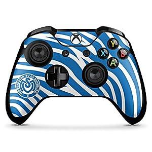 DeinDesign Skin kompatibel mit Microsoft Xbox One X Controller Aufkleber Folie Sticker MSV Duisburg Merchandise Fanartikel Logo