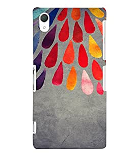 PrintVisa Ethnic Art Pattern 3D Hard Polycarbonate Designer Back Case Cover for Sony Xperia Z2