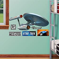 FATHEAD U.S.S. Enterprise NCC-1701-Fathead Jr. Graphic Wall Décor