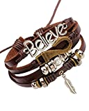 Best Bracelet For Girlfriends - Young & Forever Mentastic Beads Believe Leaf Charm Review