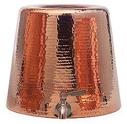Sertodo Copper Niagara Water Dispenser, 2.5 Gallon Capacity, Pure Copper