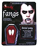Vampire Fangs (set of 2 tooth caps) - with new improved putty! (accesorio de disfraz)