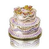 H&D Frauen Schmuck-Box, Motiv Cupcake-Hülle mit Geschenk für Mädchen