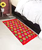 #8: Warmland Floral Polycotton Bed Side Runner - 30