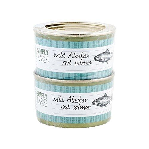 Marks & Spencer Lachs Alaska 2X213G (426G) (Packung mit 6) (Tee Alaska)