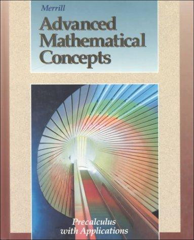 Merrill Advanced Mathematics Concepts