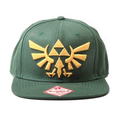 The Legend of Zelda - Triforce Hyrule Smybol einstellbarer Cap Snap-Back Baseball Kappe Mütze Hut Original & Lizensiert