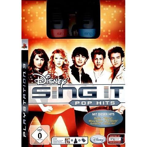 Disney Sing It - Pop Hits Bundle (inkl. 2 SingStar Mikros) [Importación alemana]