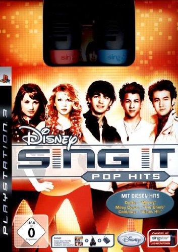 Disney Sing It - Pop Hits Bundle (inkl. 2 SingStar Mikros) (Disney-karaoke-playstation 3)