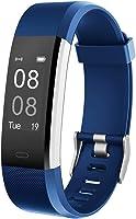 YAMAY Fitness Armband mit Pulsmesser Wasserdicht IP67 Fitness Tracker Smartwatch Aktivitätstracker Pulsuhr Schrittzähler...