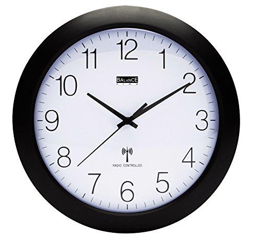 Horloge murale radio pilotée 30 cm